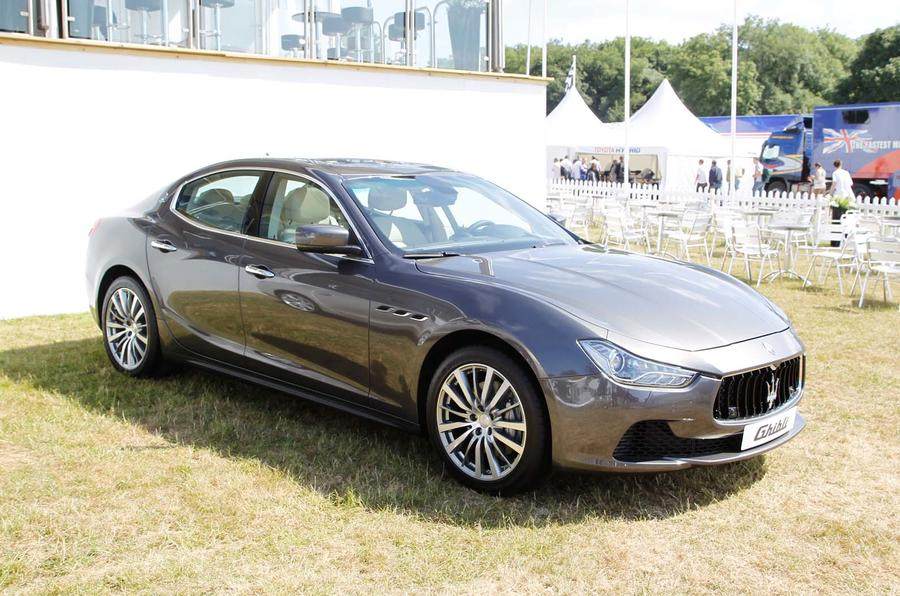 Goodwood Festival of Speed: Maserati Ghibli