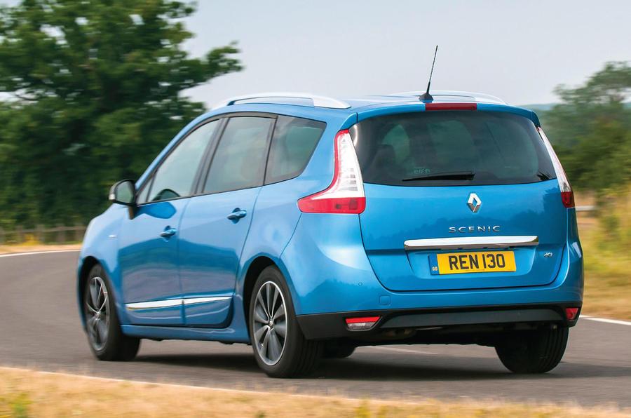 Renault Grand Scenic rear