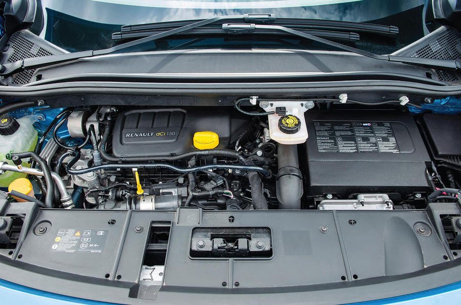 1.2-litre Renault Grand Scenic engine