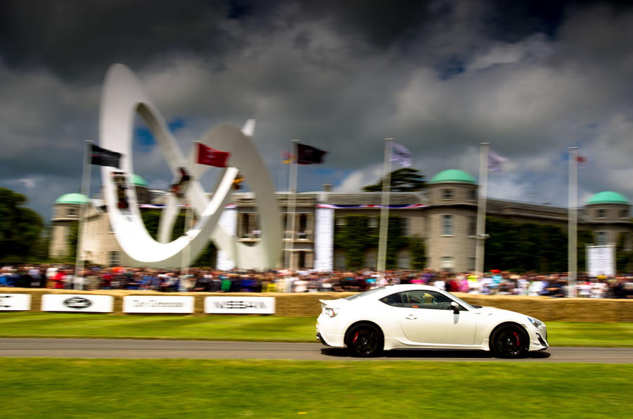 Win a Toyota GT86 race car drive at Goodwood