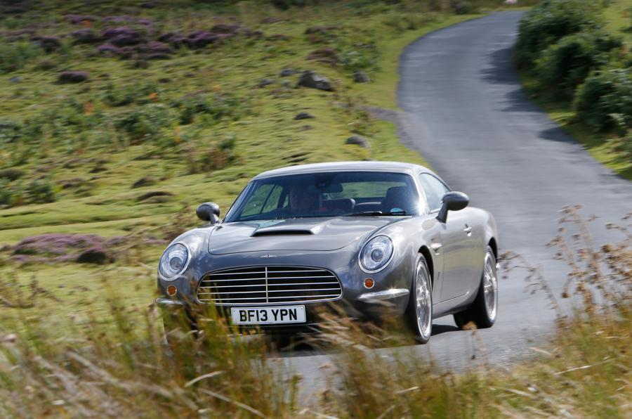 David Brown Speedback GT cornering