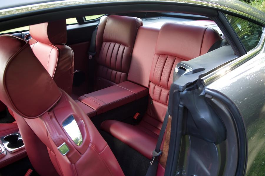 DB Speedback GT rear seats