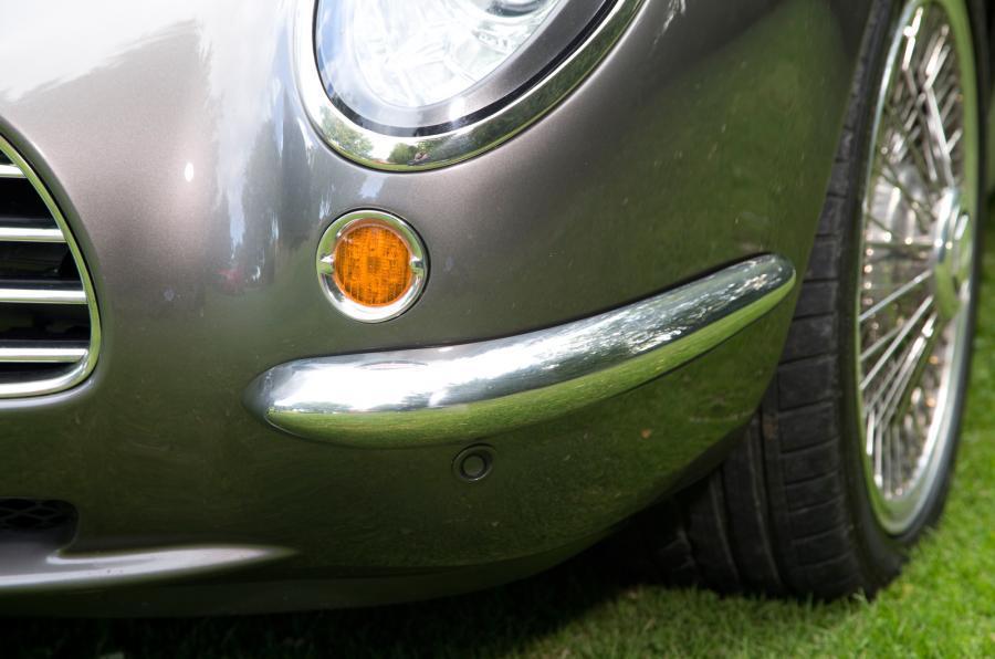 Speedback GT chrome bumper