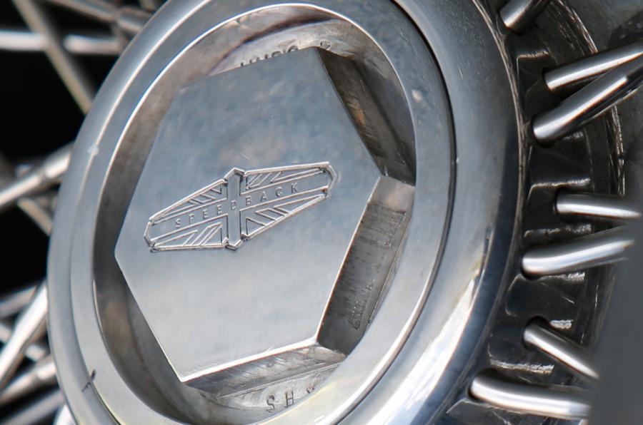 DB Speedback GT wheel nut