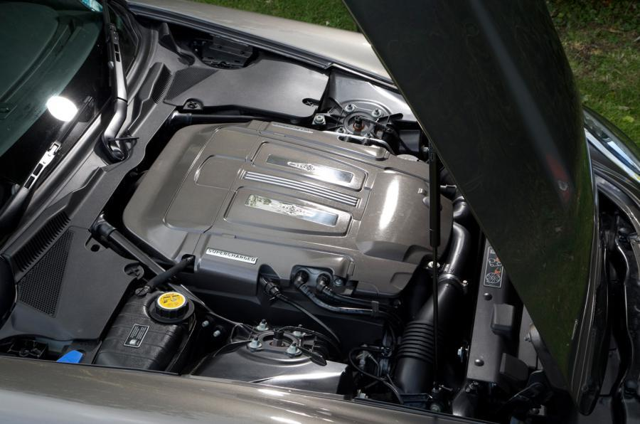 DB Speedback GT supercharged engine