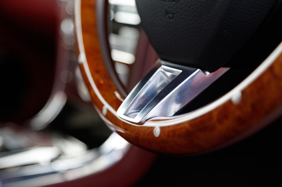 Wooden trim Speedback GT wheel