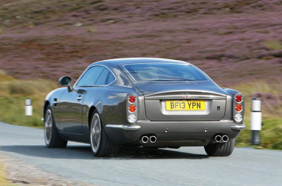 DB Speedback GT rear cornering