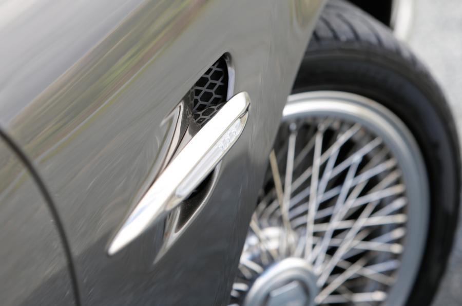 Speedback GT spindle alloy wheels