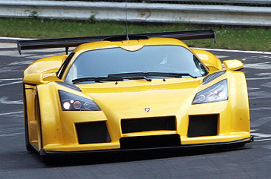 Geneva motor show: Gumpert 'Fast Tourer'