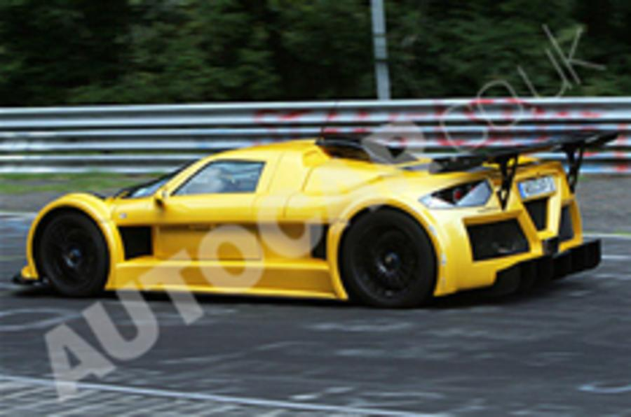 Gumpert Apollo sets 'Ring record