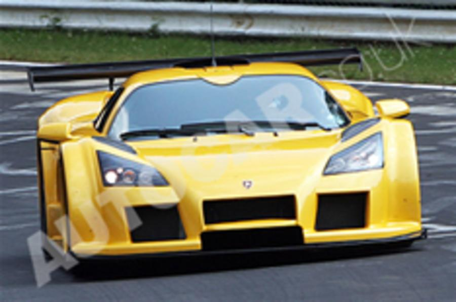 Gumpert Apollo Speed spied