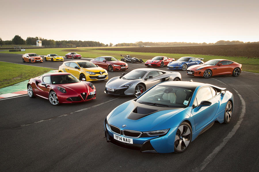 Top videos of 2014 - starring Ferrari, McLaren, Porsche and many more