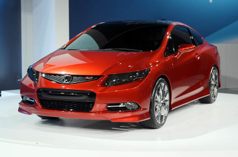 Detroit motor show: new Honda Civic