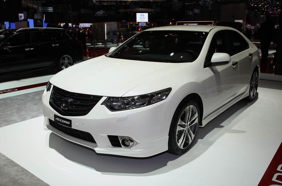 Geneva Motor Show 2011 Honda Accord Facelift Autocar