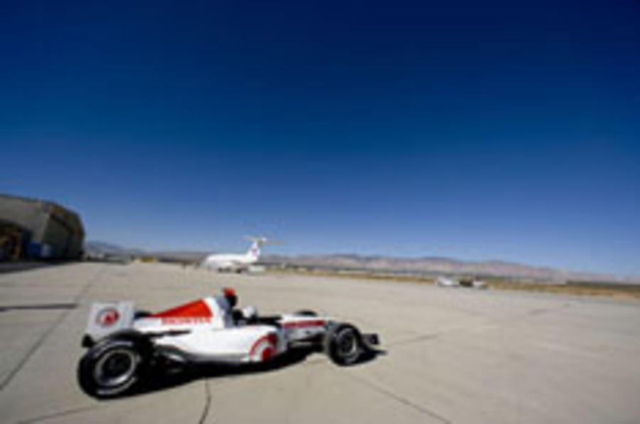 Honda goes for Bonneville F1 record