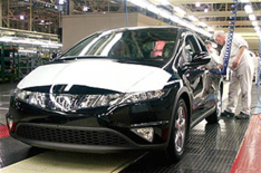 Honda cuts UK workers' pay