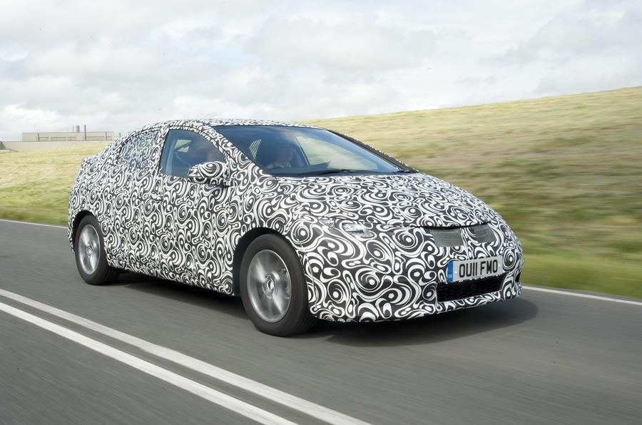 New Honda Civic – teaser pics
