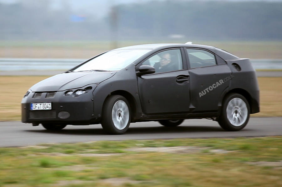 """""""Two generation"""" step for new Civic"""