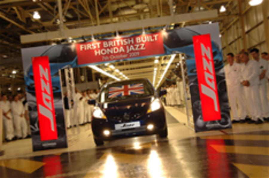 UK Honda Jazz production begins