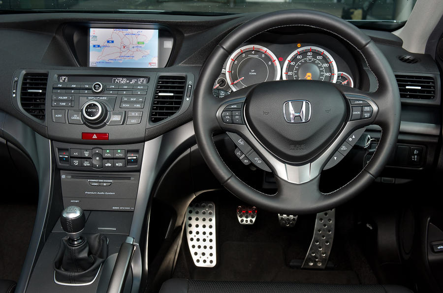 Honda Accord dashboard