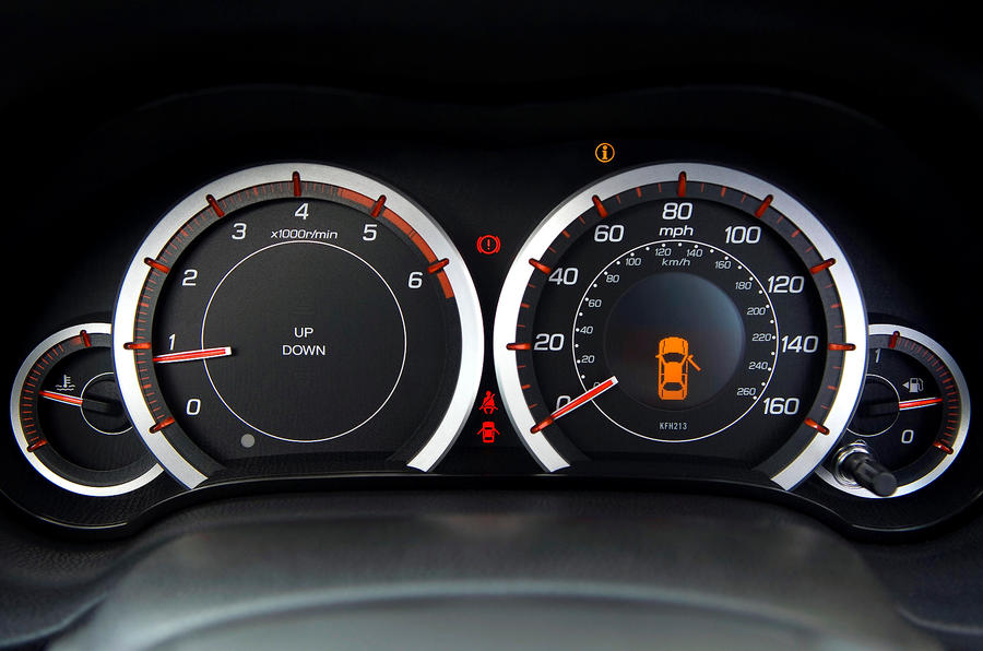 Honda Accord instrument cluster