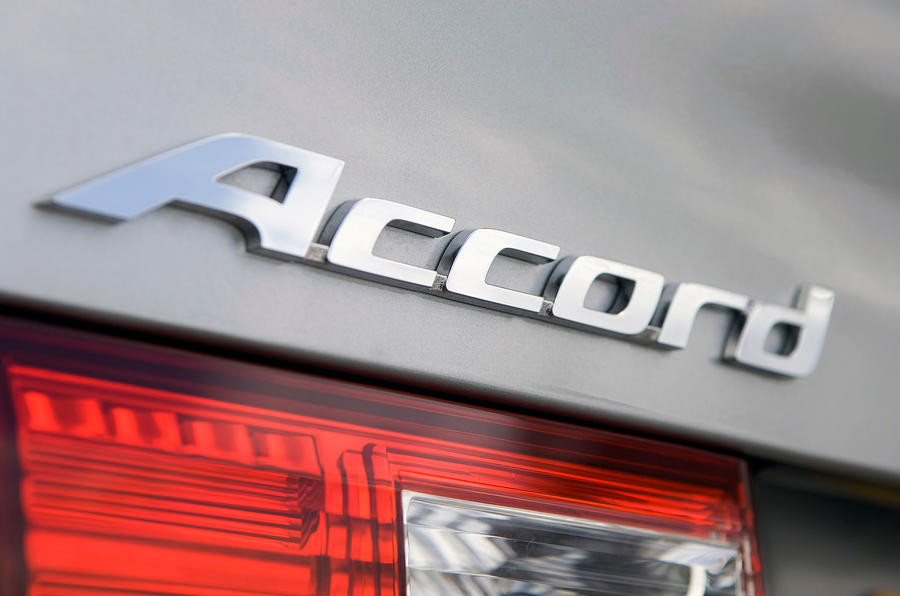 Honda Accord badging