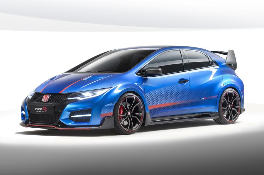 New Honda Civic Type R concept unveiled