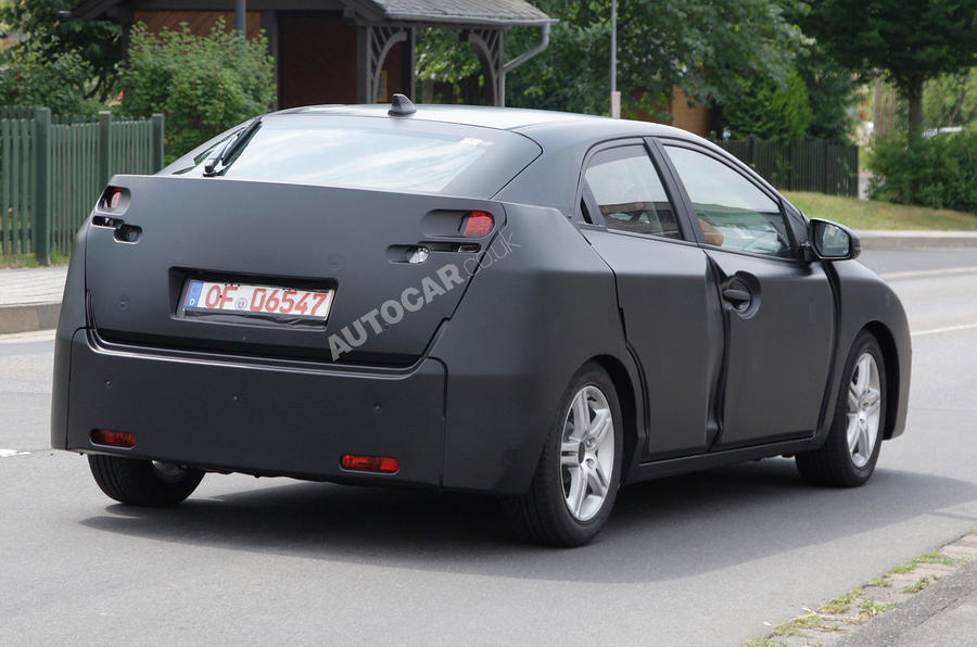 Next Honda Civic: first pics