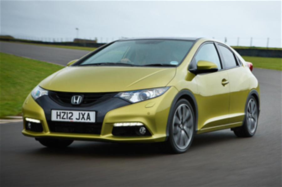 Honda Civic production resumes