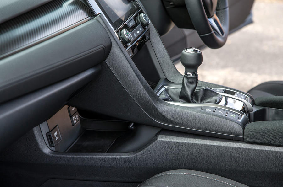Honda Civic centre console