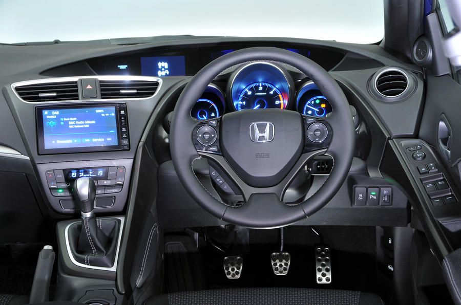 ... Honda Civic Dashboard ...