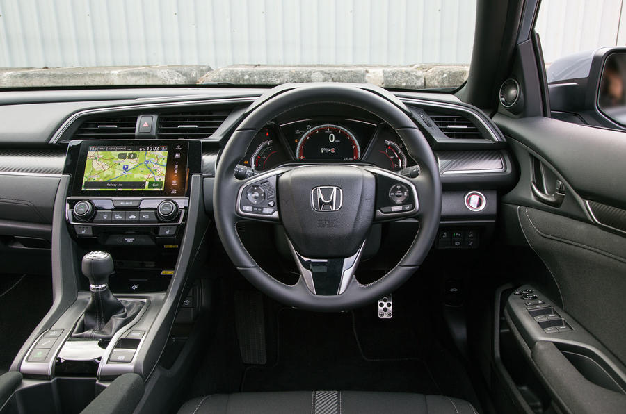 honda civic ride handling autocar. Black Bedroom Furniture Sets. Home Design Ideas