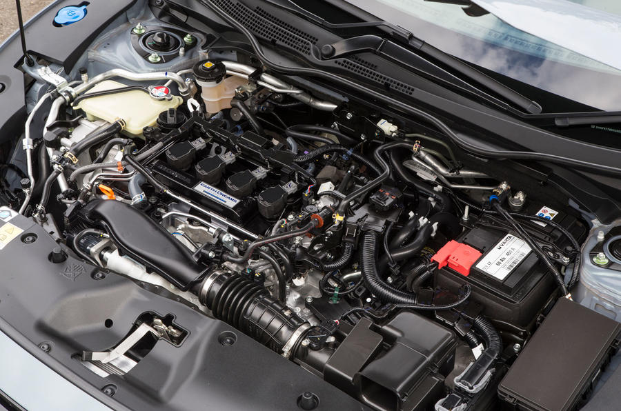 1.5-litre i-VTEC Honda Civic petrol engine