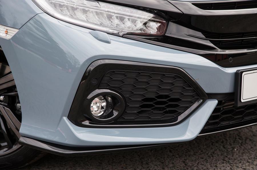Honda Civic front foglight