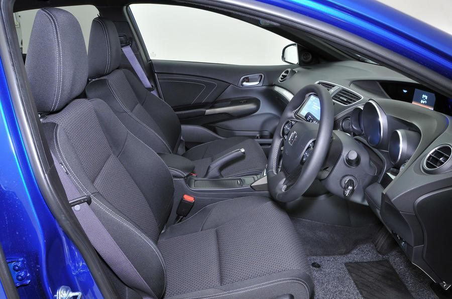 ... Honda Civic Interior ...