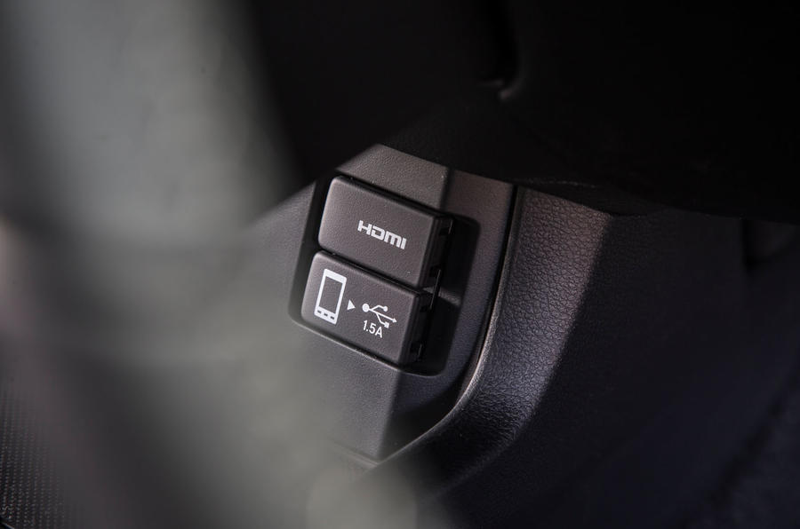 Honda Civic multimedia ports