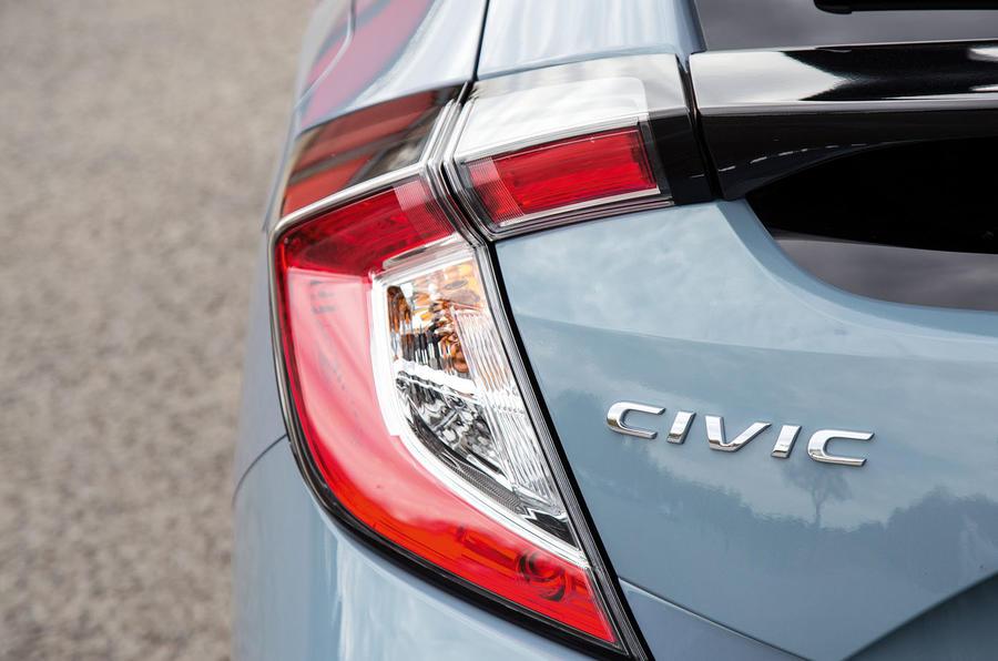 Honda Civic rear lights