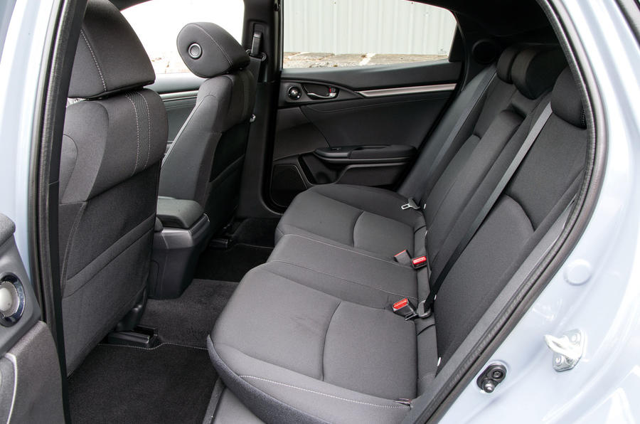 Honda Civic rear seats