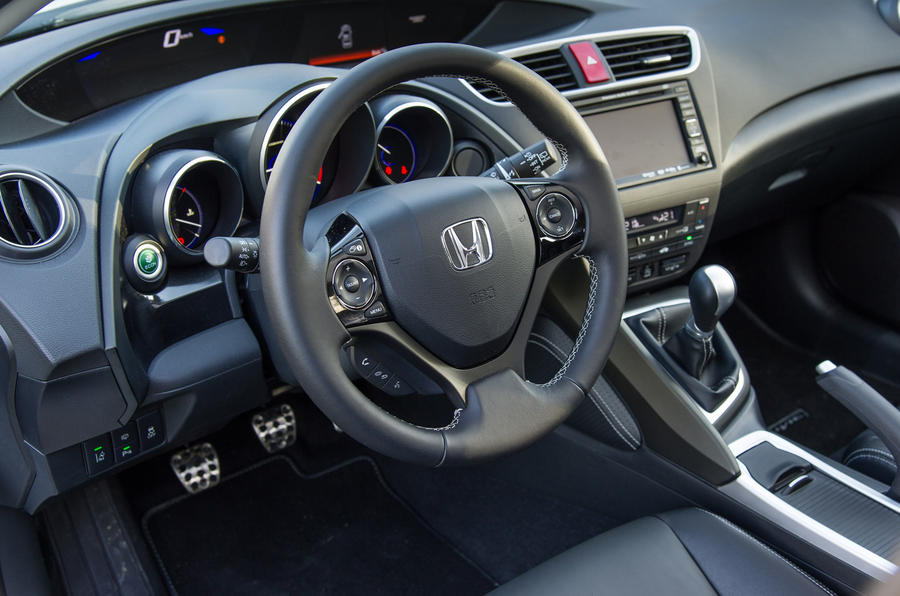 A look inside the Honda Civic's cabin