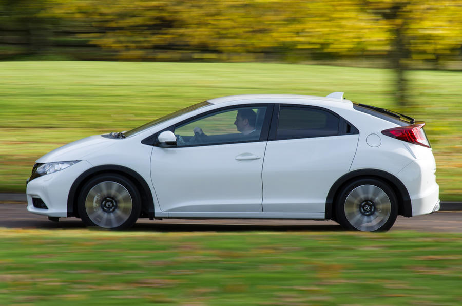 The Honda Civic is fitted with the lightest diesel engine in the world