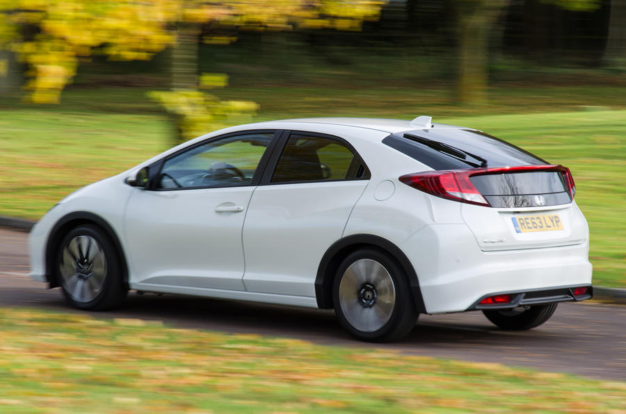 The ride of the Honda Civic is a significant improvement on the last generation