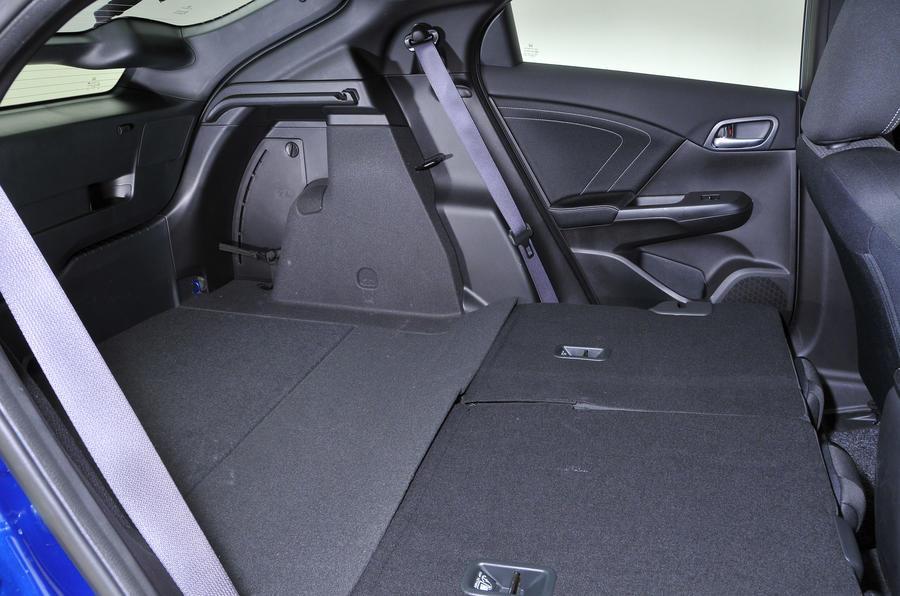 Honda Civic seating flexibility