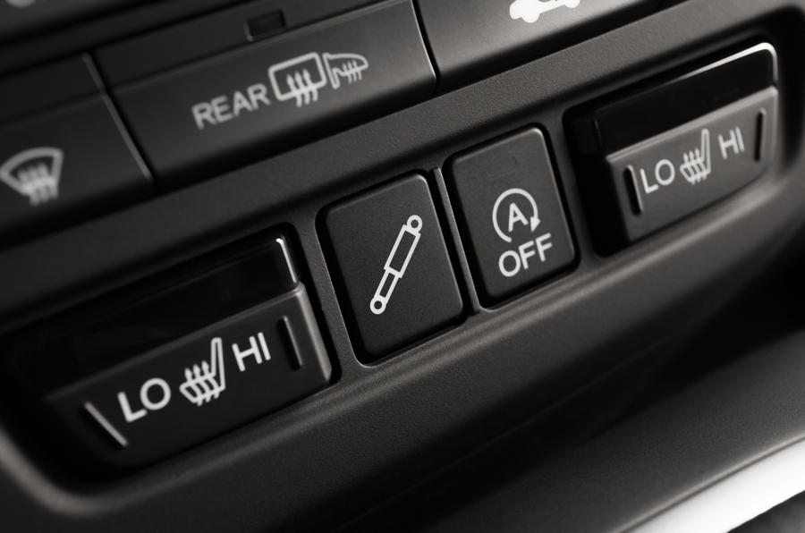 Honda Civic Tourer switchgear
