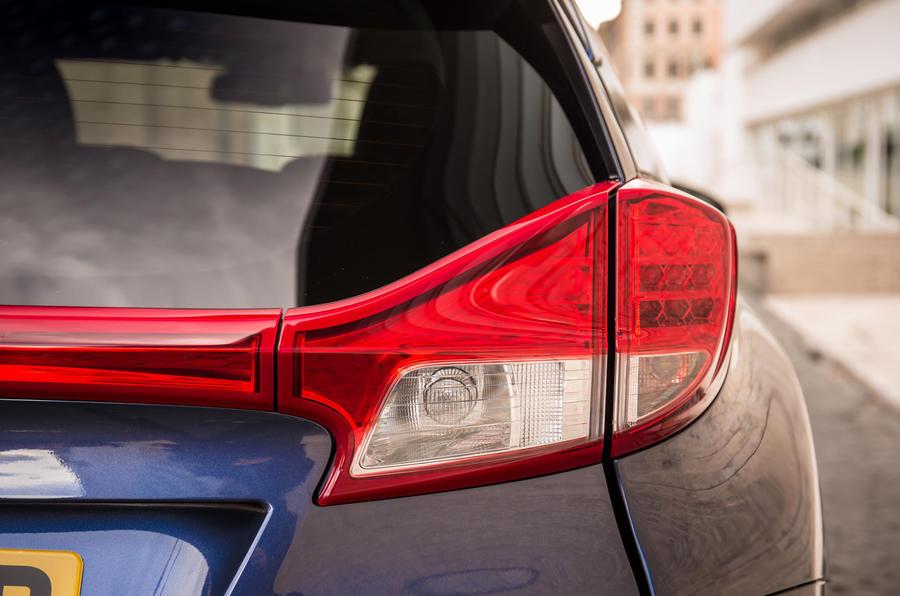 Honda Civic Tourer rear lights