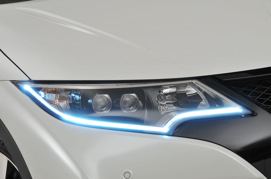 Honda Civic Tourer LED headlights