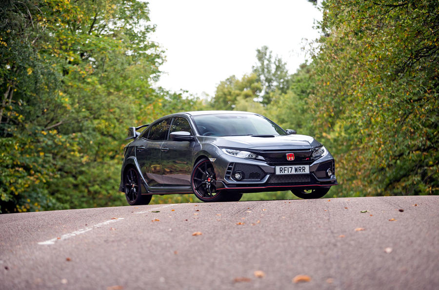 4.5 star Honda Civic Type R