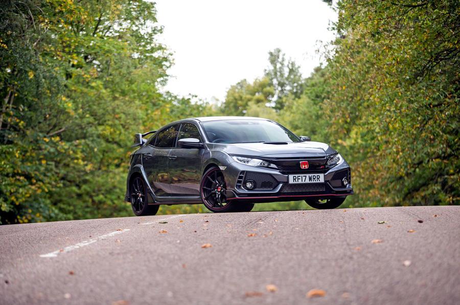 4.5 star Honda Civic Type R