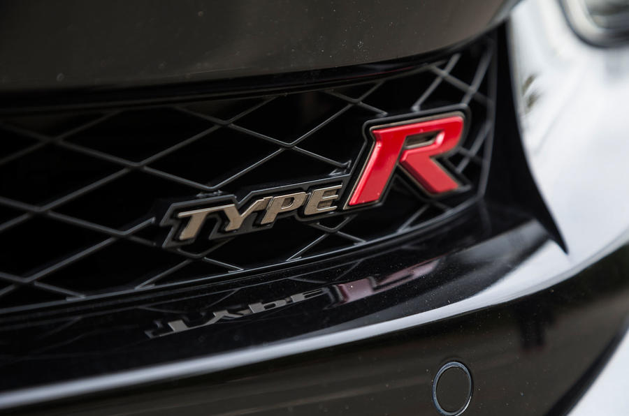 Honda Civic Type R badging