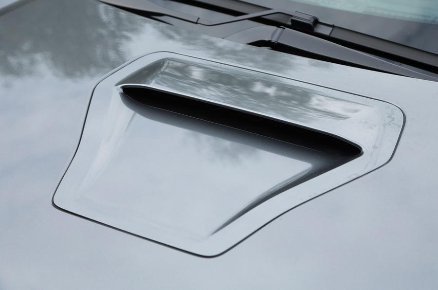 Honda Civic Type R bonnet scoop