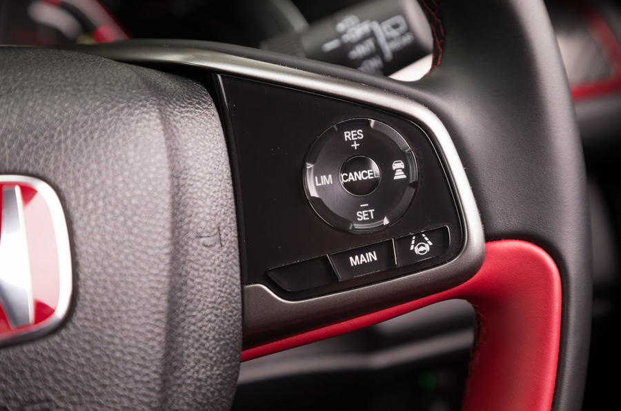 Honda Civic Type R cruise control